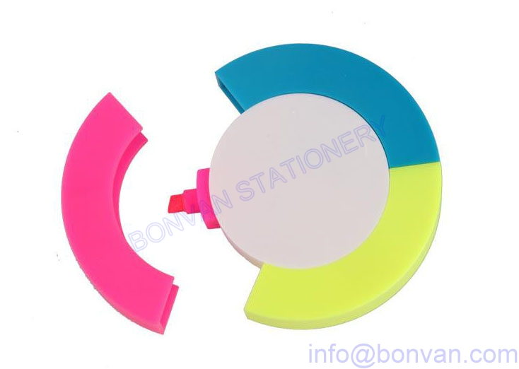 round shape highlighter,round highlighter marker
