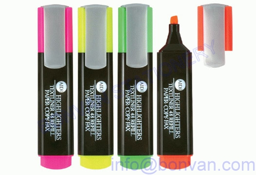 advertising gift highlighter marker