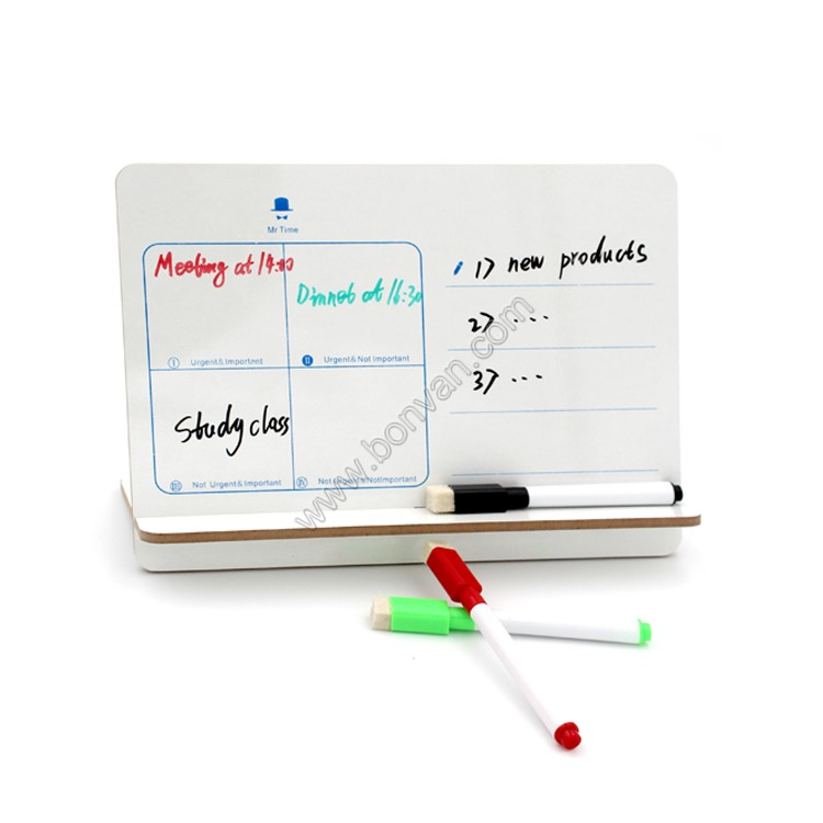 office desk top use writing whiteboard memo board