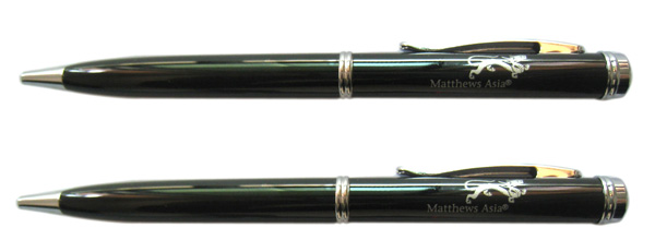 rosewood metal pen