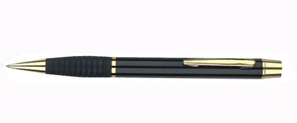 rubber grip metal pen