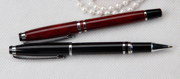 high value roller metal pen