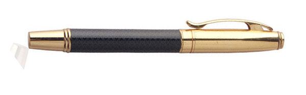 pu leather Deluxe metal ink pen