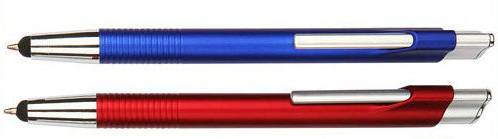 metallic color plastic stylus touch pen
