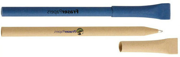 eco paper green promotional pen