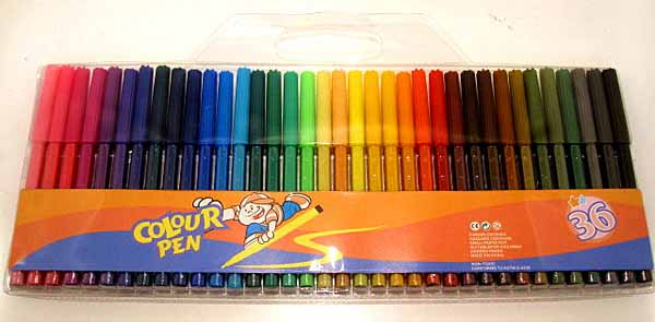 professional supplier of 36 colors watercolor marker